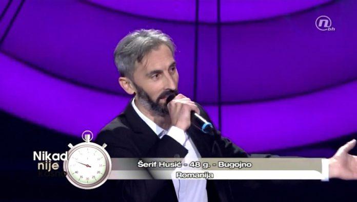 ŠERIF HUSIĆ ŠERA PROŠAO U NASTAVAK TAKMIČENJA: Veliku podršku dobio iz Zenice