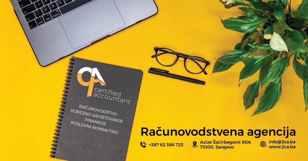 Agencija ''CA'' Certified Accountant – Agencija za računovodstvo iz Sarajeva