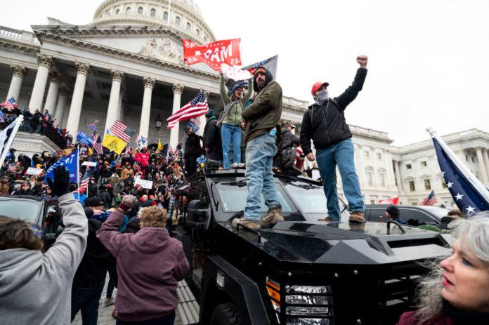 Svjetski lideri osuđuju nasilne proteste u Washingtonu