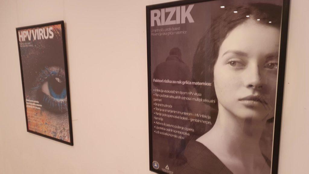 Predavanja i izložba plakata uokviru akcije Stop karcinomu grlića materice