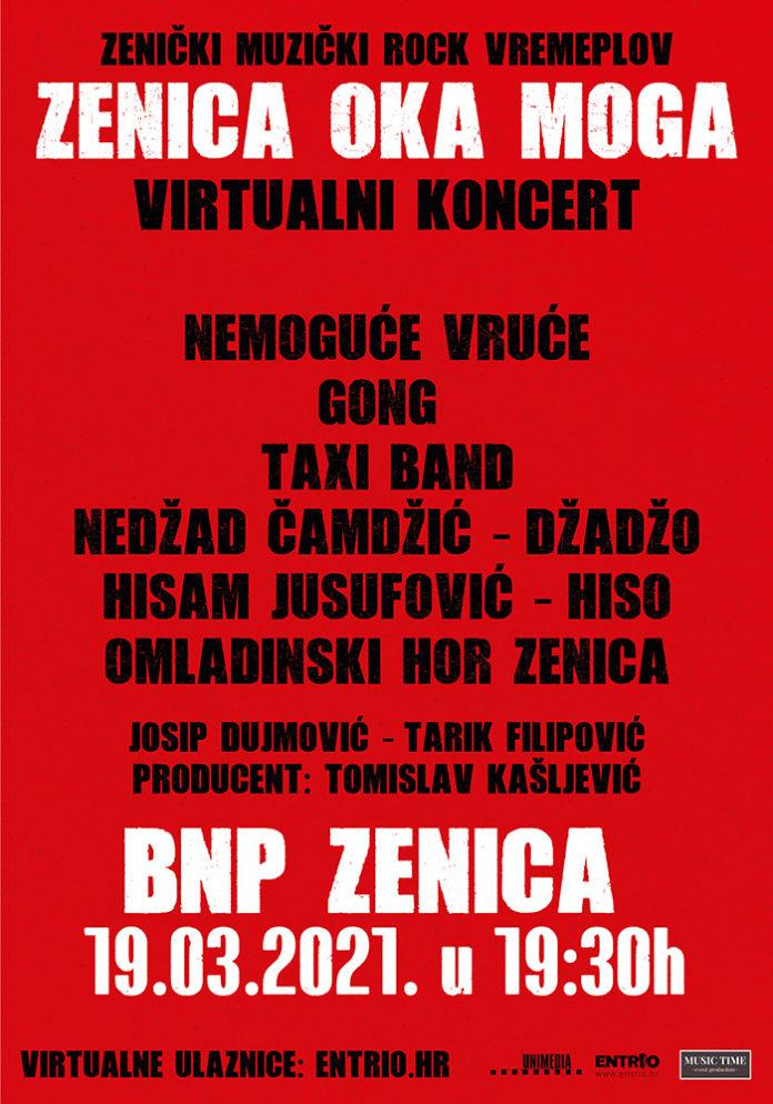 """""""Zenica oka moga"""" – prvi virtuelni koncert koji spaja rock generacije"""
