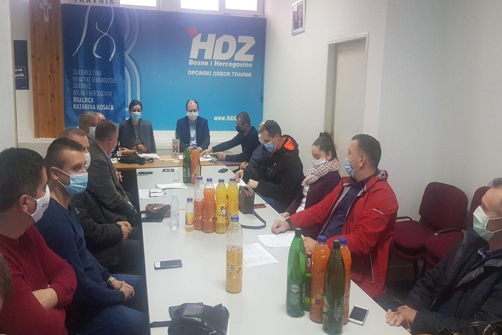 HDZ BIH će bojkotovati prijevremene izbore u Travniku, pravnu borbu će nastaviti na Ustavnom sudu BiH