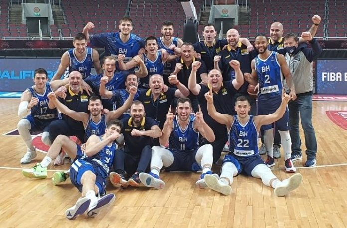 Košarkaška reprezentacija Bosne i Hercegovine zvanično najbolja reprezentacija u Evropi!