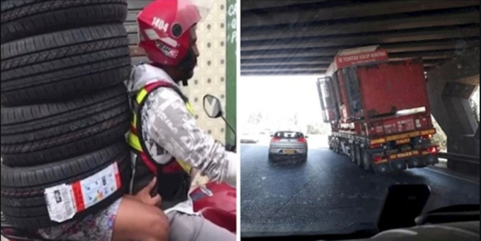Fotkali su čudne situacije koje su vidjeli dok su se vozili gradom