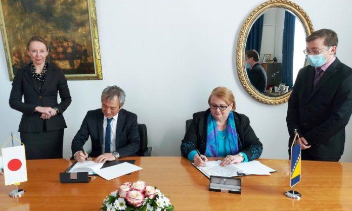 Vlada Japana osigurala 100 miliona jena za opremanje medicinskih ustanova u BiH