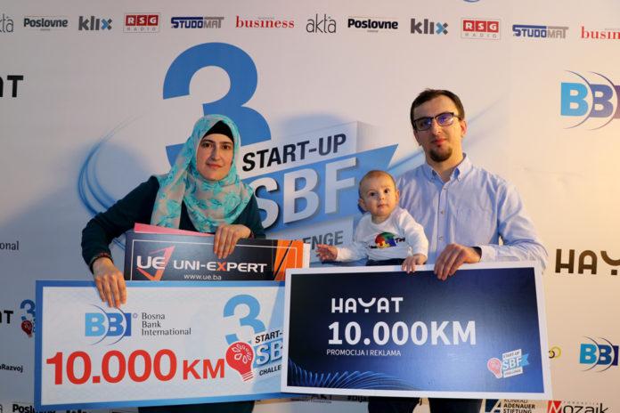 Pobjednici 4. emisije treće sezone SBF Start-up Challenge/ UNA TOYS iz Cazina proizvodit će didaktičke igračke od drveta