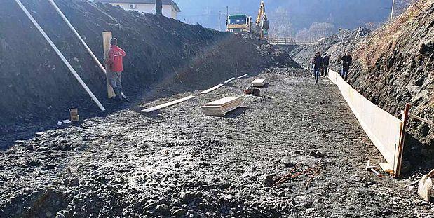 Regulacija Starinske rijeke u Topčić Polju