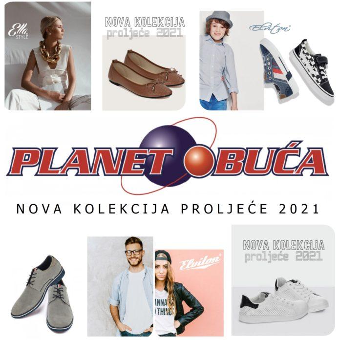 """PLANET OBUĆA TRAVNIK"" - Nova proljetna kolekcija 2021."
