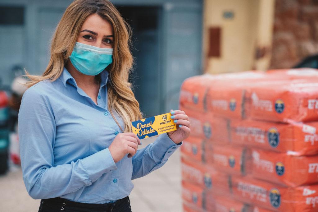 Mozzart donirao hranu za 200 korisnika Narodne kuhinje u Doboju