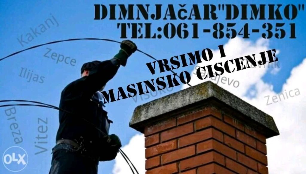 Dimnjačar Dimko - Za čiste i sigurne dimnjake