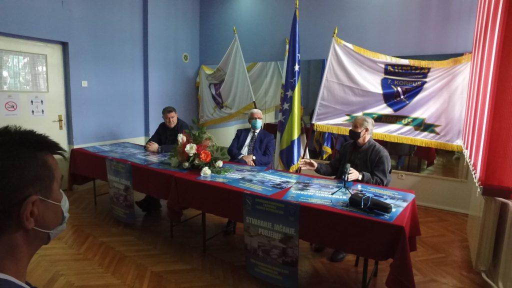 (FOTO) PRESS U TRAVNIKU / 27. godišnjica 7. Korpusa ARBiH i 29. godišnjica formiranja Armije RBiH