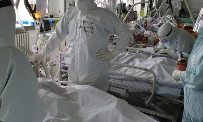 Blago smanjenje broja pacijenata za hospitalizaciju u Covid odjelu Opće bolnice u Sarajevu