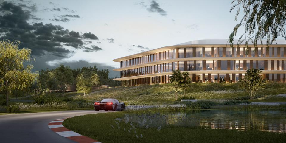 rimac predstavio supermoderni kampus