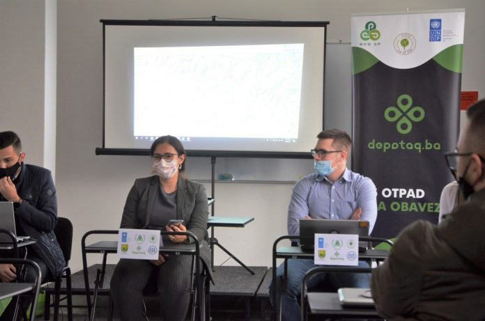 NVO 3P predstavio depotag.ba - prva web platforma za mapiranje divljih deponija