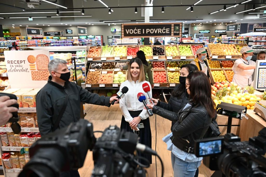 Bingo nastavlja investicije u Semberiji / Osigurali pedeset novih radnih mjesta u hipermarketu