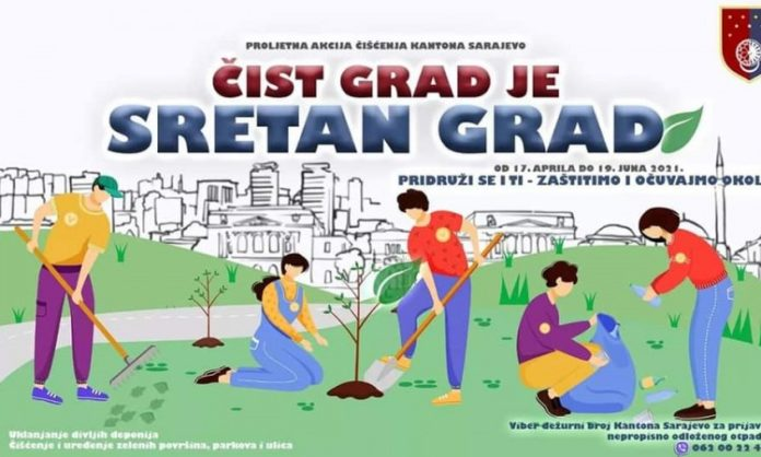 Proljetna akcija čišćenja javnih površina u KS počinje 17. aprila