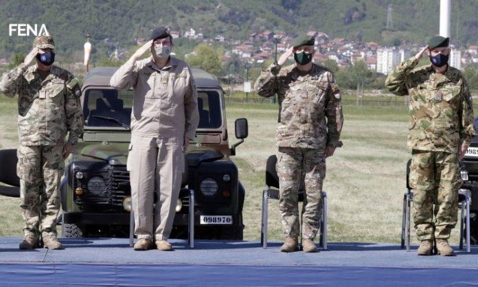 Primopredaja dužnosti na čelu EUFOR-ovog štaba u Sarajevu (VIDEO)