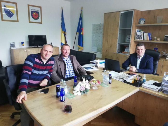 Načelnik Dujo s predstavnicima pravoslavne zajednice Novog Travnika