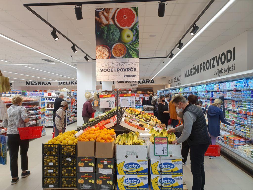 (FOTO) Otvorena nova Konzum prodavnica u Zenici