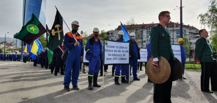 Rudari poručili: Ovo je početak borbe za rudnike