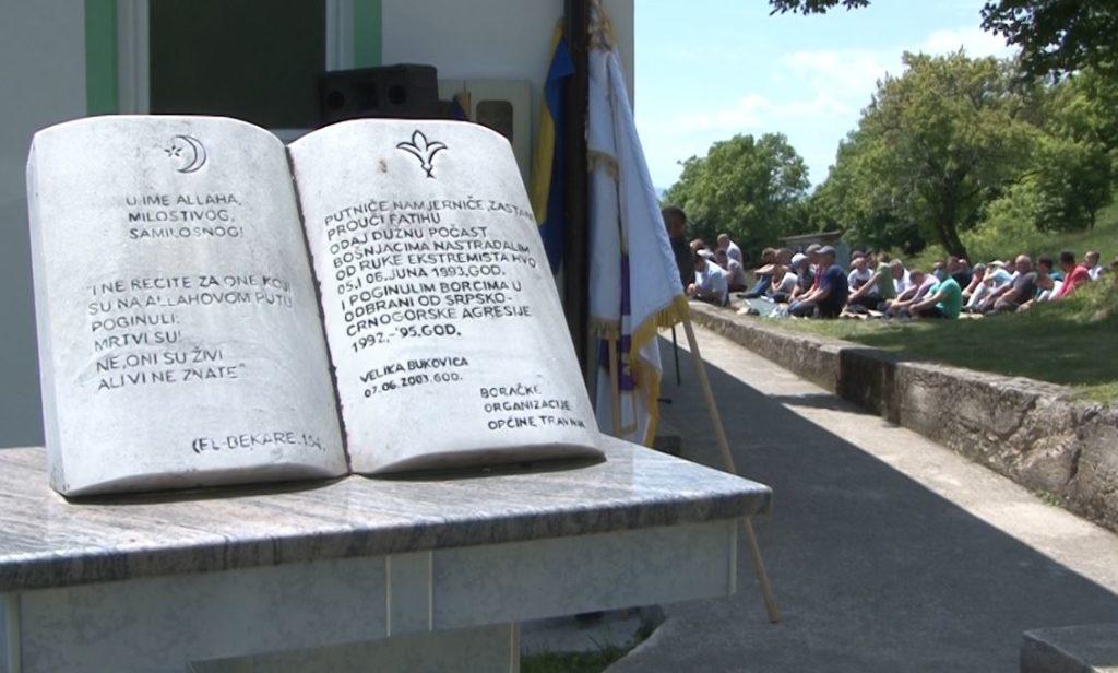 """(FOTO) Velika Bukovica Travnik / """"Nikada ne smijemo zaboraviti žrtvu koja je data za slobodu"""""""