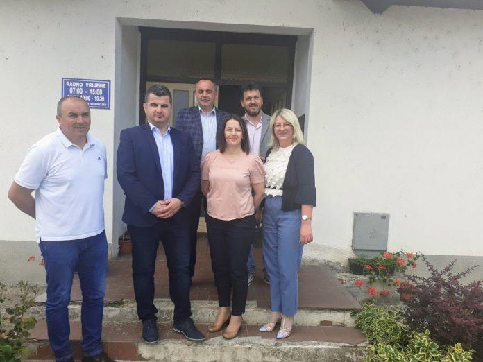 """Načelnik Dujo posjetio dva komunalna poduzeća i """"ORŠK"""""""