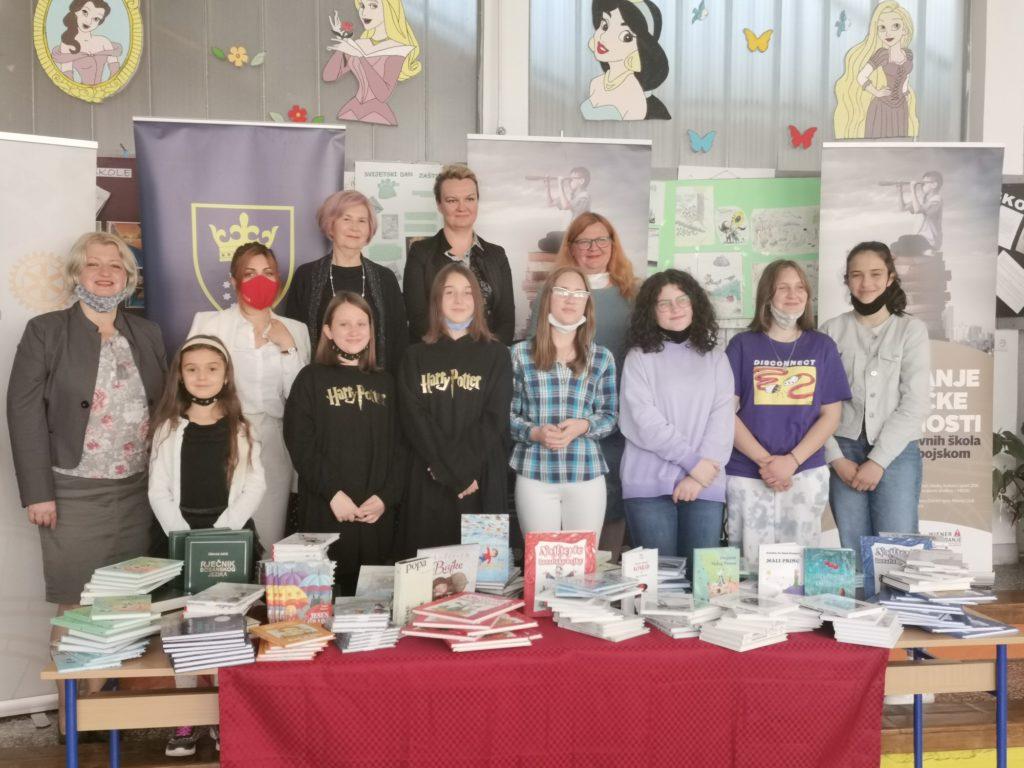 Knjižni fond školskih biblioteka ZDK uvećan za 6 hiljada knjiga