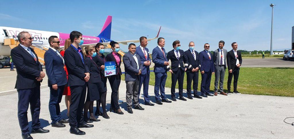 Wizz air počeo letjeti iz Banja Luke