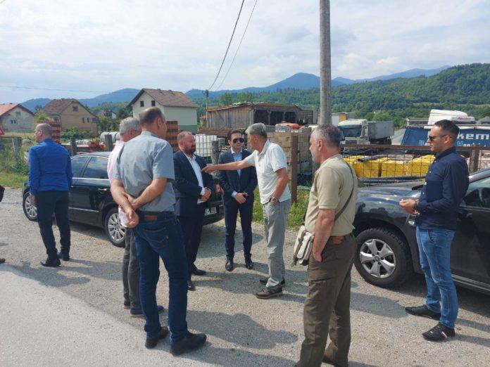 Ministar Isak obišao regionalne ceste u općini Zavidovići