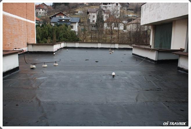 Završeni radovi na sanaciji krova Osnovne škole Travnik