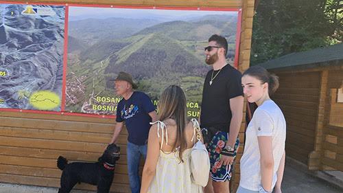 NBA košarkaš Jusuf Nurkić posjetio Bosanske piramide / 'Očaran sam!'