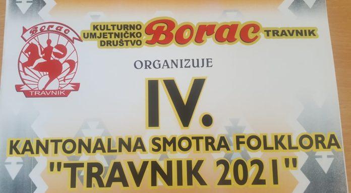 "U subotu u Travniku Kantonalna smotra folklora ""Travnik 2021"""