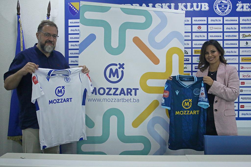 Povratak na staze uspjeha - Mozzart postao sponzor fudbalera Željezničara
