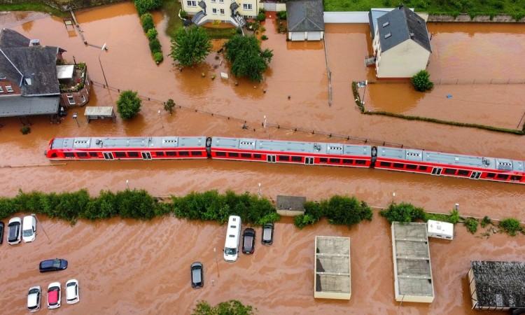 njemačka nakon poplave, štete na željezničkoj mreži 1,3 milijardi eura