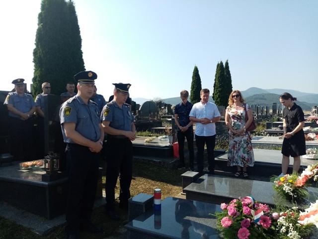 Obilježena 23. godišnjica stradanja policijskog službenika PS Travnik Ante Valjana