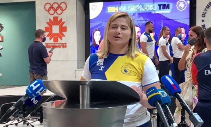 Travničanka Larisa Cerić saznala imena protivnica na Olimpijskim igrama