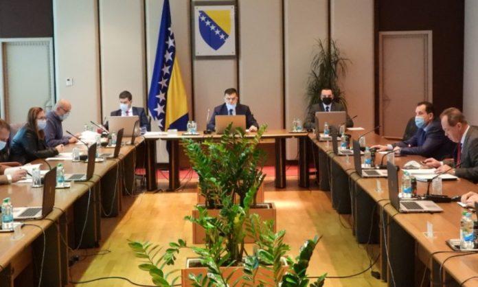 Vijeće ministara BiH o stanju u oblasti migracija