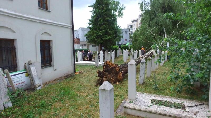 (FOTO/VIDEO) Pogledajte posljedice nevremena u Travniku