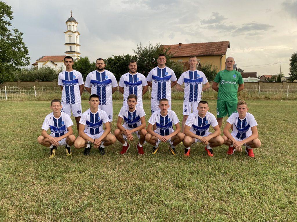 Poklon od srca za nove šampione - I fudbaleri Drine u Mozzartovim dresovima!
