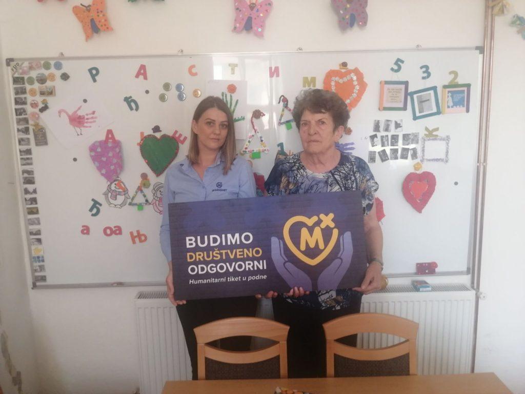 Humanitarni tiket: Mozzart obradovao udruženja iz Kozarske Dubice i Ljubinja