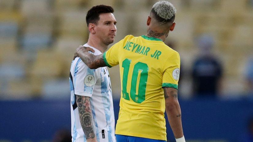 poslastica je derbi brazil - argentina