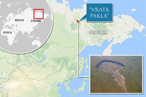 """sibirska 'vrata pakla' se nezaustavljivo šire: naučnici upozoravaju """"moramo biti vrlo oprezni!"""""""