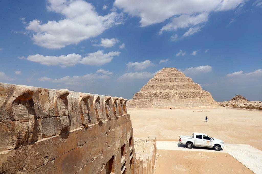 unutrašnjost groba kralja djosera: pogled u drevnu grobnicu najpoznatijeg faraona treće dinastije (foto)