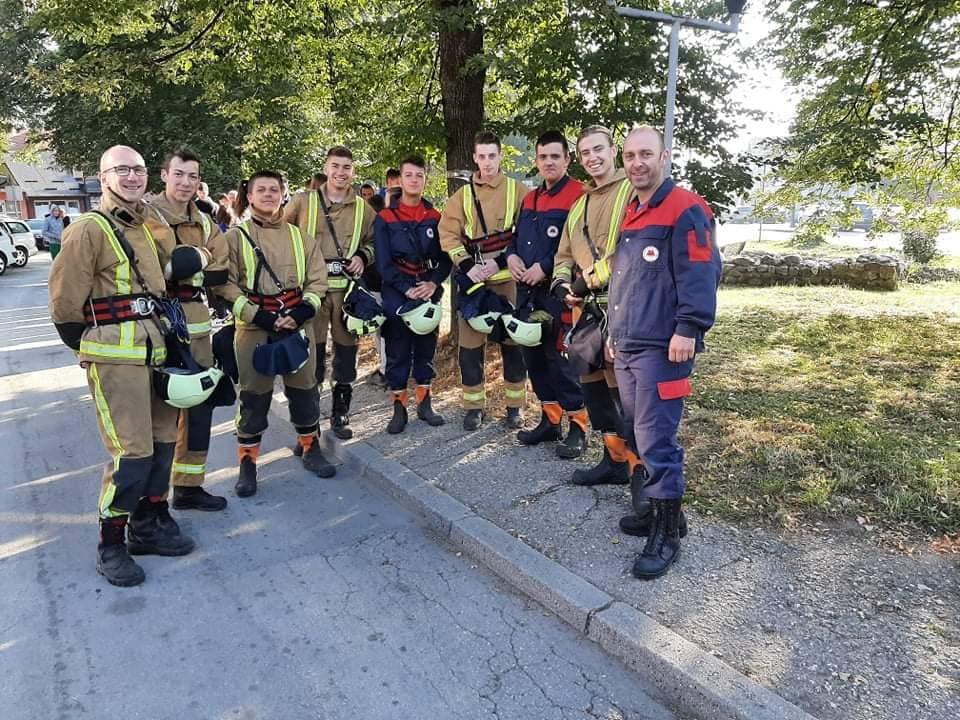 """(foto) vatrogasno društvo """"turbe"""" još jednom pokazalo solidarnost"""