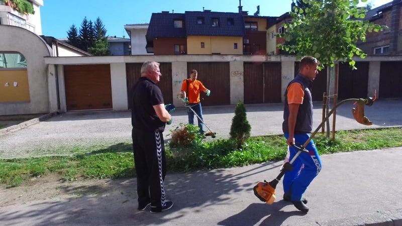 """(FOTO/VIDEO) """"Sedmica društvene odgovornosti"""" / Ovako to rade u Mjesnoj zajednici Centar"""
