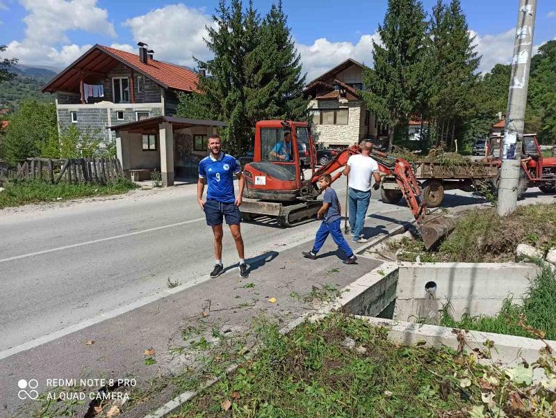 (foto) akcija čišćenja i uređenja u mjesnoj zajednici han bila