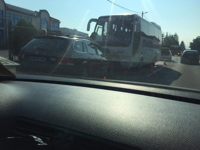 (foto) vozači oprez / teža saobraćajna nezgoda na donjem putićevu