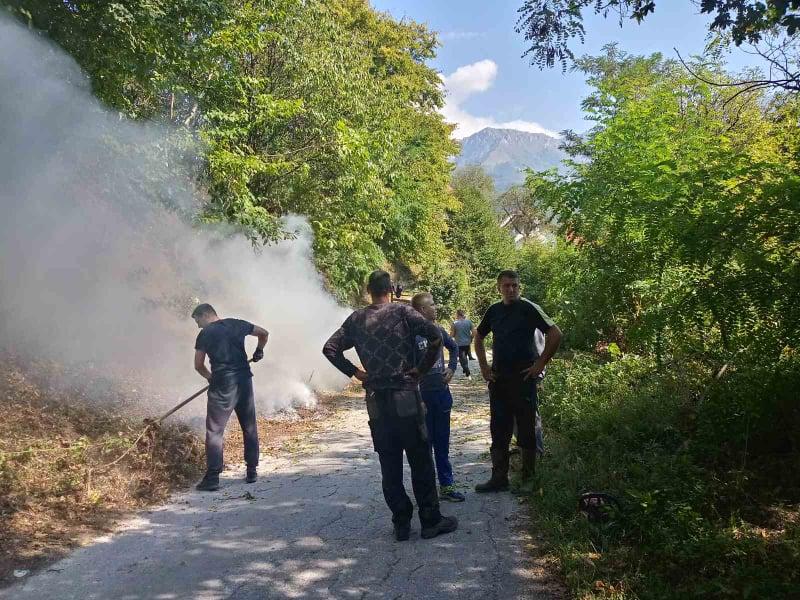 akcija čišćenja u mjesnoj zajednici kraljevice