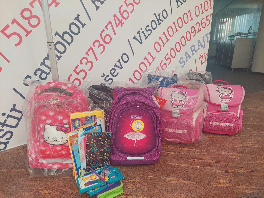 Slobodan dan za 17 zaposlenika Addiko banke čija djeca polaze u prvi razred osnovne škole