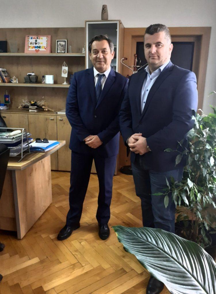 načelnik novog travnika i predsjednik općinskog suda travnik razgovarali o registru nekretnina